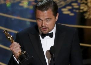 Veja aqui o discurso de Leonardo DiCaprio ao ganhar o Oscar de melhor ator.  A mudança está acontecendo agora