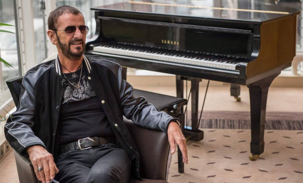 Ringo Starr, em Londres.