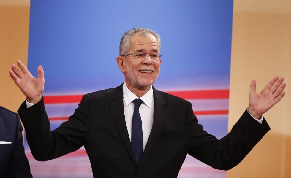 Alexander Van der Bellen será o presidente da Áustria.