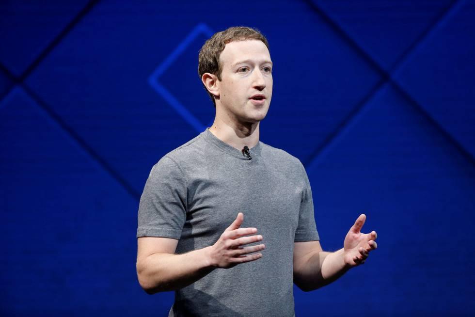 O fundador do Facebook, Mark Zuckerberg.