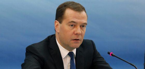 O primeiro-ministro russo, Dmitri Medvedev, em março.