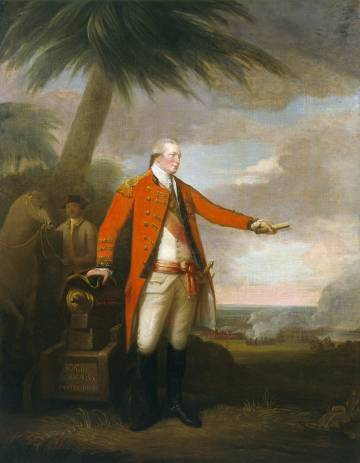 Sir Hector Munro, pintado por David Martin (1785), exposto na National Gallery de Londres.