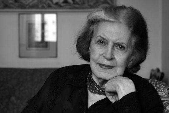 A escritora brasileira Lygia Fagundes Telles.