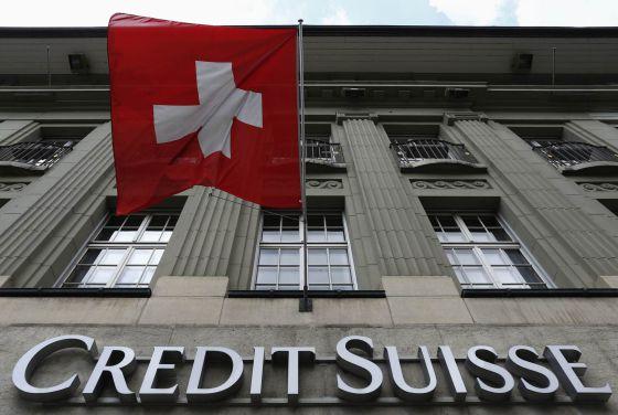 Sede do Credit Suisse em Berna (Suíça).