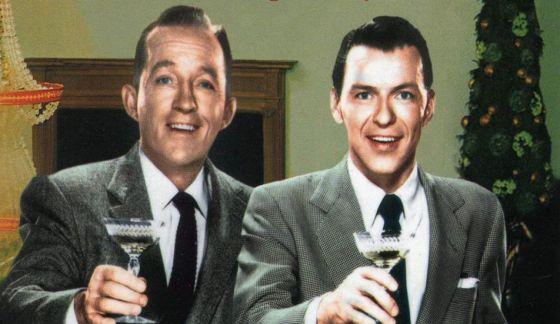 Frank Sinatra e Bing Crosby.