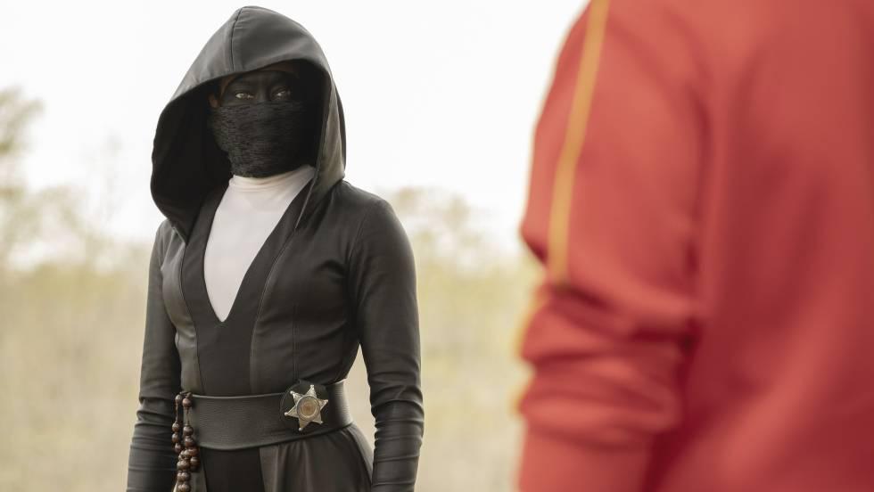 Regina King, protagonista de 'Watchmen'.