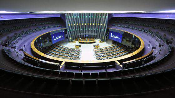 Câmara dos Deputados, em Brasília.