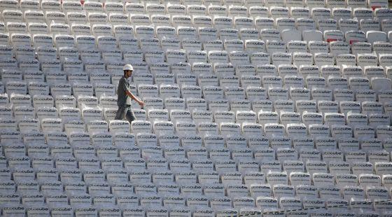 Arena Corinthians em Itaquera (São Paulo).