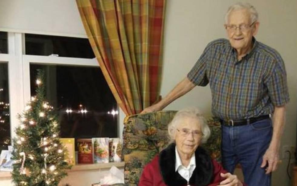 Herbert e Audrey Goodine, de 91 e 89 anos.