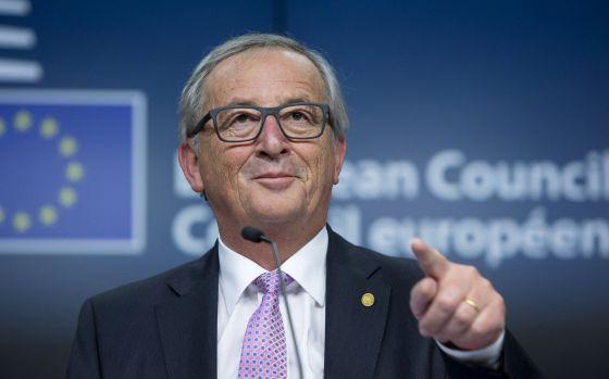 O presidente da Comissão Europeia, Jean Claude Juncker, durante uma entrevista coletiva em Bruxelas em 2015.
