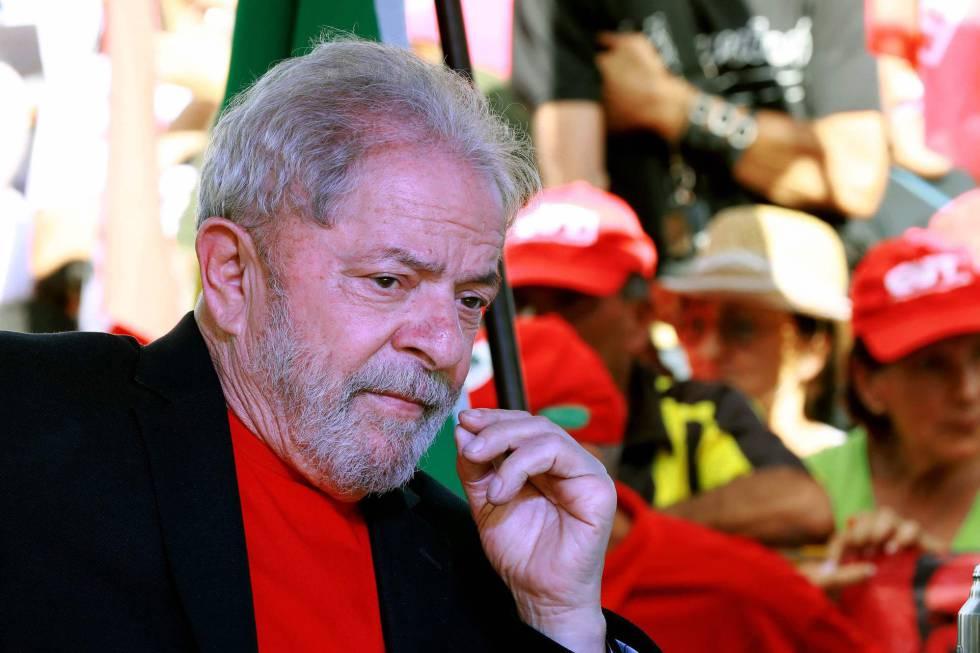 O ex-presidente Lula neste dia 19.