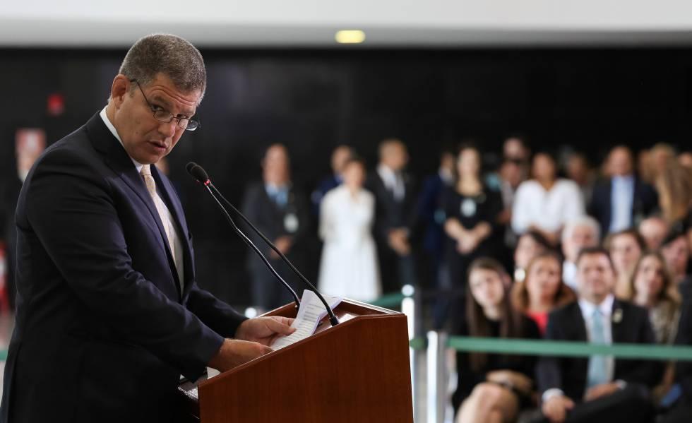 O ministro Bebianno, no dia 2 de janeiro.