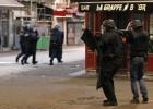 Policiais e militares ocupam a cidade conhecida por abrigar o Stade de France, onde os homens bomba explodiram na sexta