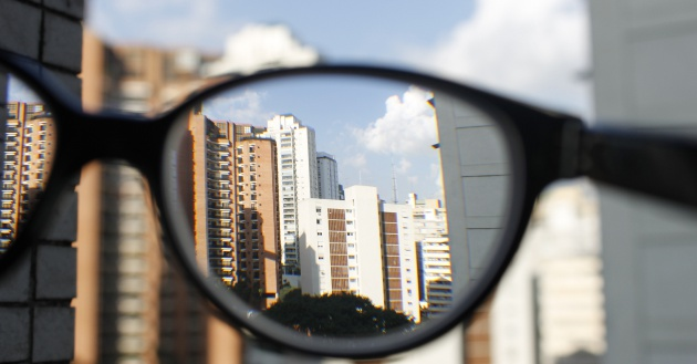 Foto incluída na série 'Ensaio Sobre a Miopia'.