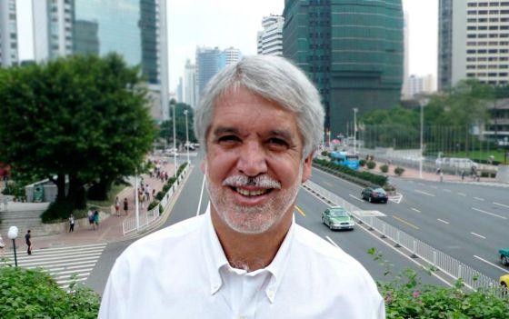 O ex-prefeito de Bogotá, Enrique Peñalosa.