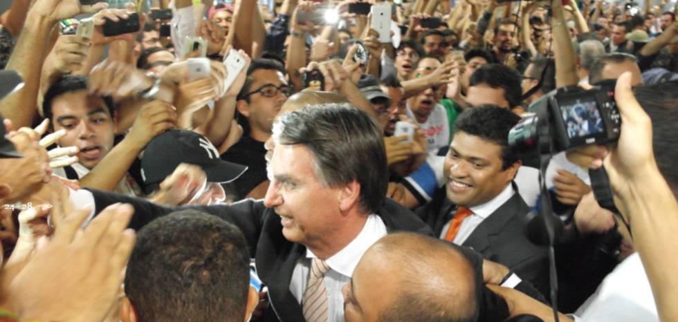 O deputado federal Jair Bolsonaro, pré-candidato à presidência em 2018.
