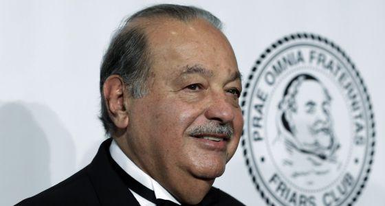 O milionário mexicano Carlos Slim.
