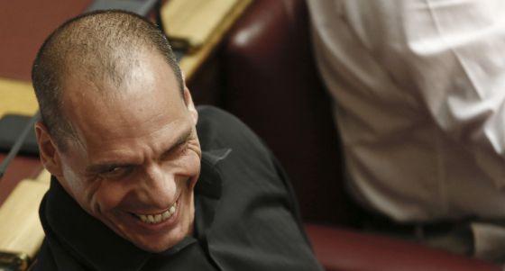 O ex-ministro de Finanças grego, Yanis Varoufakis, na semana passada.