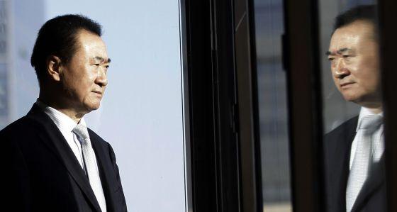 Wang Jianlin, presidente do Wanda Group, em Pequim.