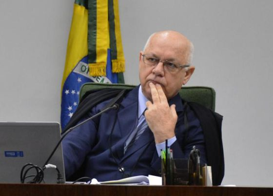 O ministro do STF Teori Zavascki.
