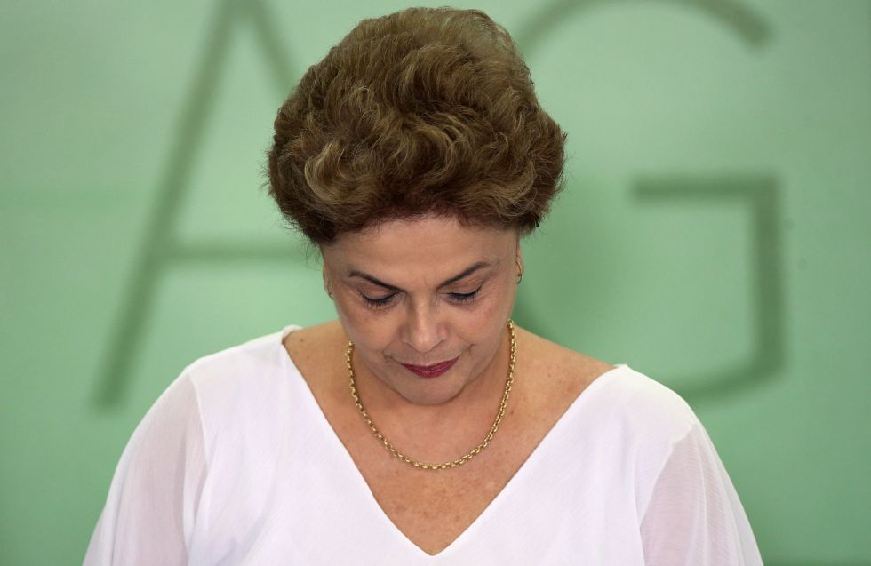 Dilma Rousseff, no último dia 1.