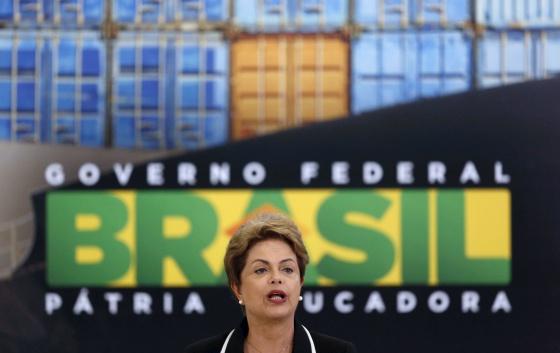 A presidenta do Brasil, Dilma Rousseff