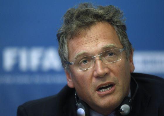 Jérôme Valcke, secretário-geral da Fifa, em imagem de arquivo.