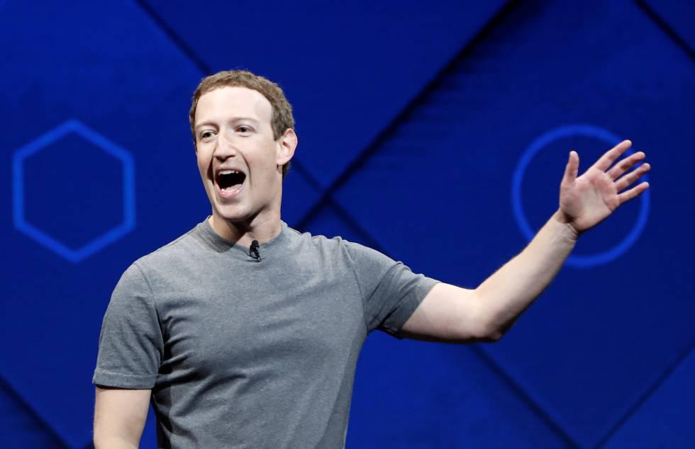 O fundador e CEO do Facebook, Mark Zuckerberg, durante sua participação na conferência de desenvolvedores de San José, Califórnia (EUA).