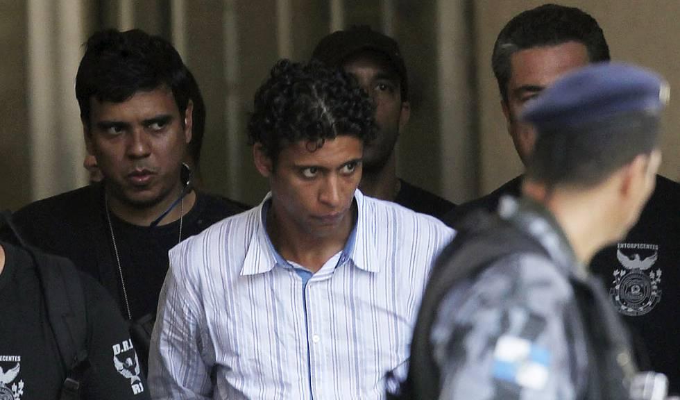Nem após ser preso no Rio de Janeiro, em 2011.