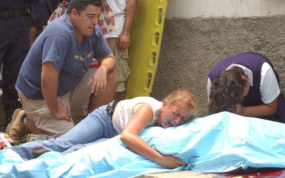 """Centenas de comerciantes da capital guatemalteca já perderam a vida por não cederem à chantagem das """"maras"""". / Arquivo"""