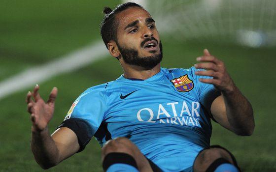 Douglas, na partida de ontem contra o Villanovense.