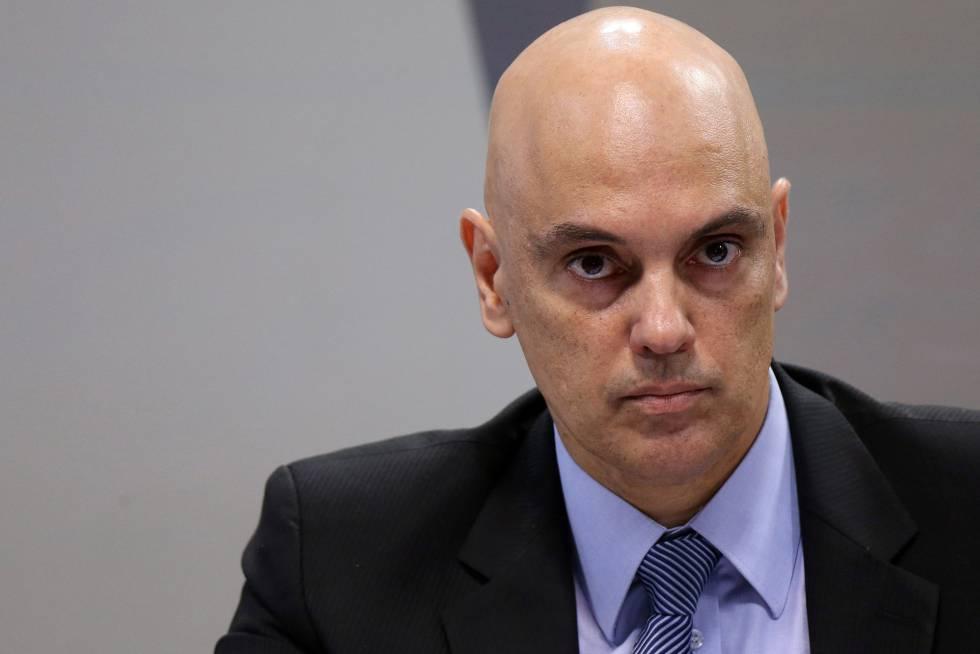 Alexandre de Moraes, durante a sabatina na CCJ do Senado nesta terça-feira.
