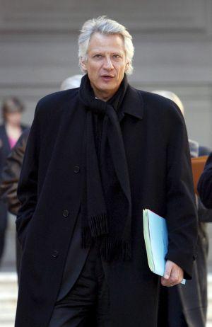 Dominique de Villepin.