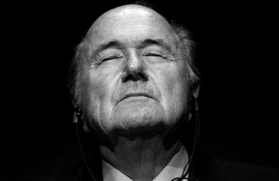Blatter, em 2010.