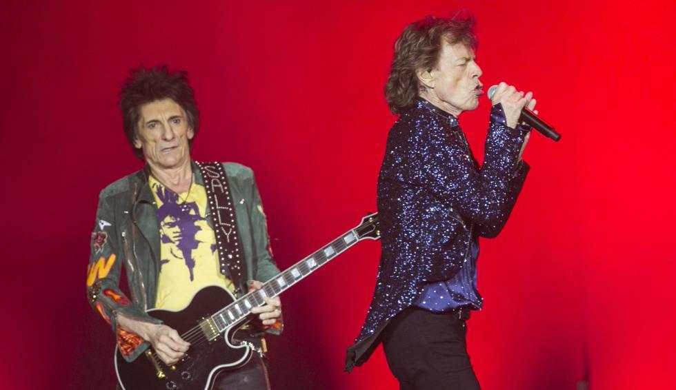 Os Rolling Stones, em Barcelona