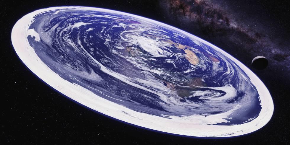 Os terraplanistas são milhares em todo o mundo. Segundo essas pessoas, nosso planeta é um disco situado no centro do universo e cercado por uma enorme muralha de gelo, como em 'Game of Thrones'.