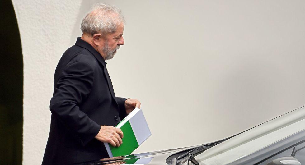 O ex-presidente Lula.