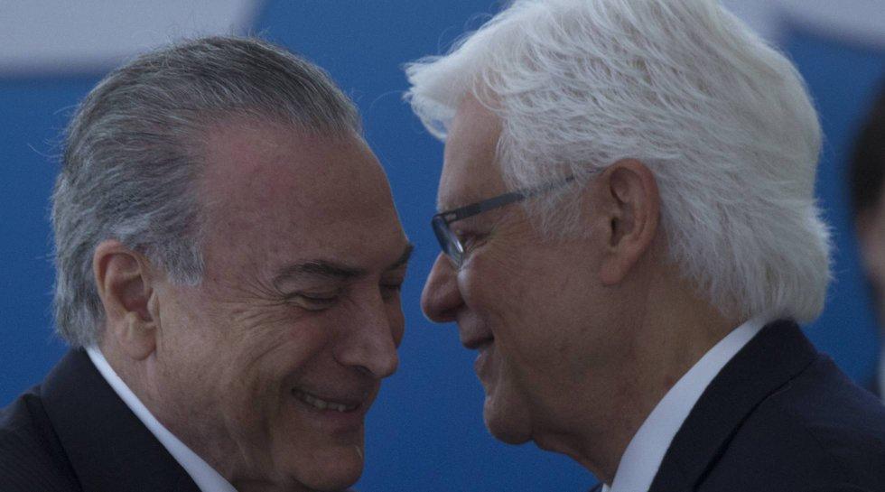 Michel Temer e Moreira Franco.