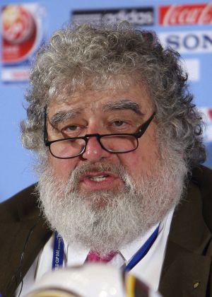 Chuck Blazer, ex-secretário-geral da Concacaf, em Abu Dabi em 2009.