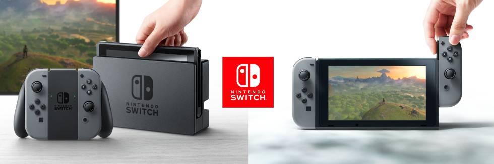 Nintendo Switch, portátil e doméstica.