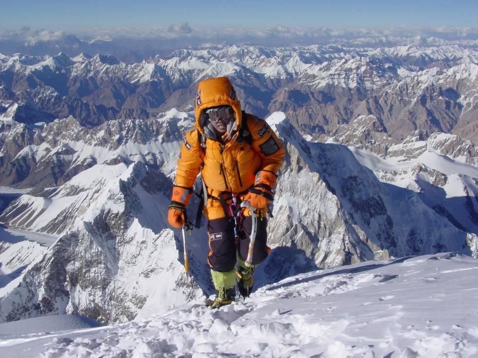 Edurne Passavam em uma de suas expedições