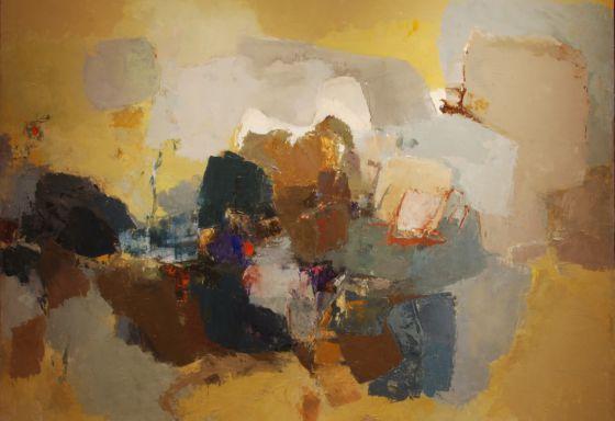 'Pintura Nº4' de Yolanda Mohalyi.