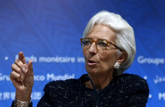 A diretora do FMI, Christine Lagarde