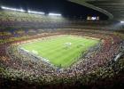 A aprovação de um novo estádio, que pode custar 420 milhões de euros, supõe aceitar obrigatoriamente um único patrocinador