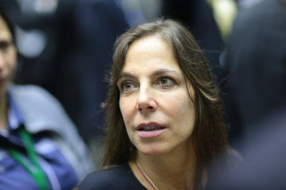 A deputada Mara Gabrilli, na Câmara.