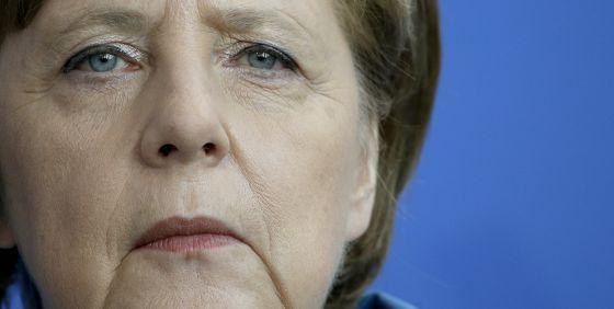 A chanceler Angela Merkel, na segunda-feira, em Berlim.
