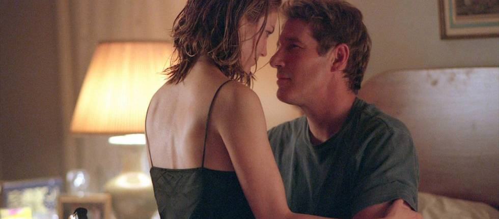Diane Lane e Richard Gere em uma cena de 'Infidelidade'.