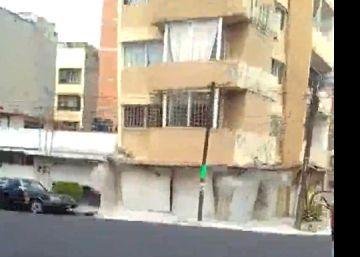 Vídeo mostra como caiu um dos 44 edifícios que ruíram na capital