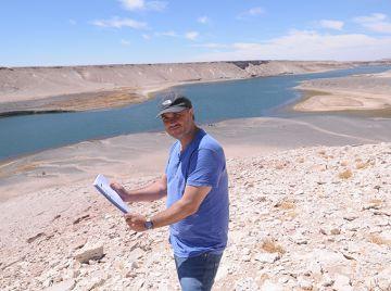 Avancini dirigiu cenas da novela no Chile.