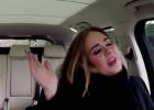 Cantora atinge agudos e se diverte ao lado do apresentador James Corden, do The Late Late Show, da rede americana CBS